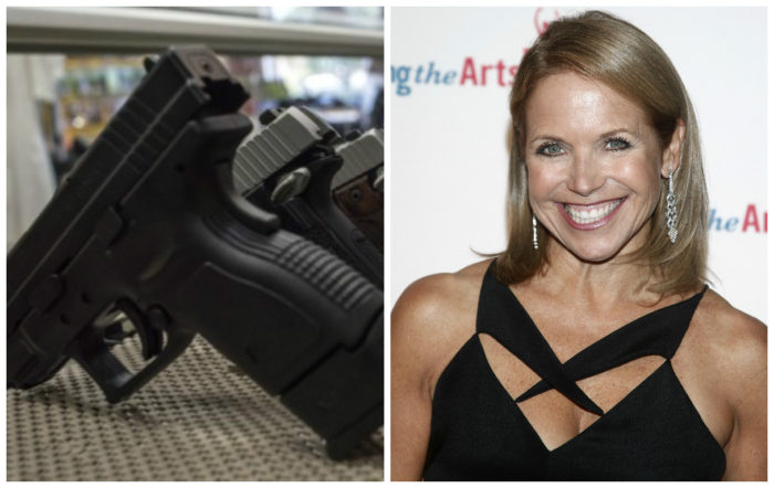 Katie Couric Faces $12 Million Lawsuit For Falsifying Anti-Gun Documentary (VIDEO)