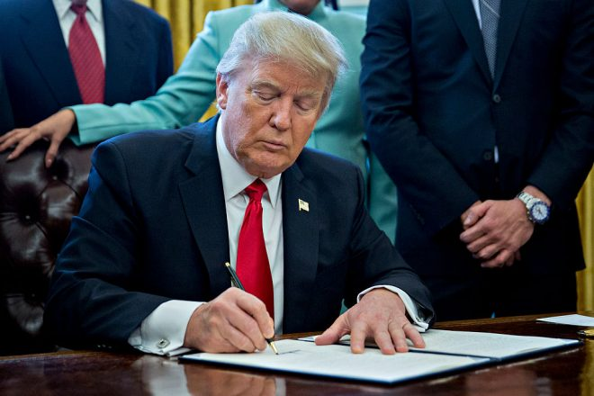 Trump's Executive Orders Expected To Dismantle Obama's 'Climate Action Plan'