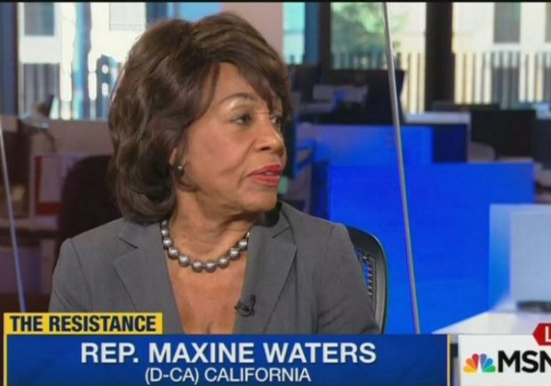 Waters: We Have To 'Do the Investigation' To Find Evidence To Impeach Trump (Video)