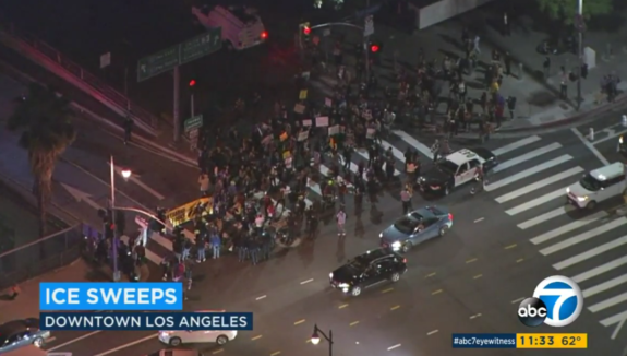 BREAKING: ICE Begins Raids In Southern California, 160 Arrested… MORE TO COME! (Video)