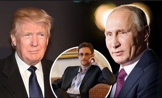 Russia Considering Sending Edward Snowden Back To U.S. As 'Gift' To Trump