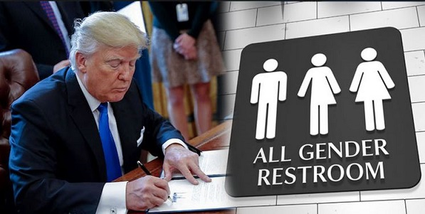 Trump Administration Working On New Transgender Bathroom Directive (Video)