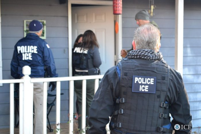 ICE Raids Net Nearly 700 Arrests, DHS Says