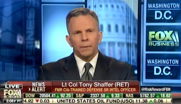 Lt. Col. Tony Shaffer Reveals Who Was 'Directly' Behind Mike Flynn Phone Call Leaks (Video)