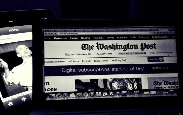 The Washington Post Actually Takes Russian Government Money (Unlike The Websites It Helped Slander) (Video)
