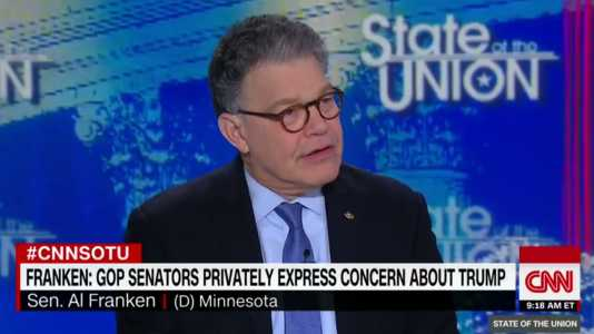 Franken: GOP Colleagues Questioning Trump's Mental Health (Video)