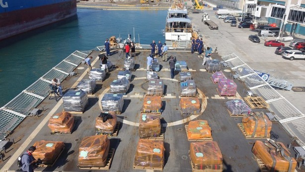 Coast Guard Seizes 16 Tons Of Cocaine Worth Over $420 Million In Pacific (Video)