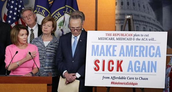 Pelosi: GOP ObamaCare Replacement Is The 'Make America Sick Again' Act (Video)