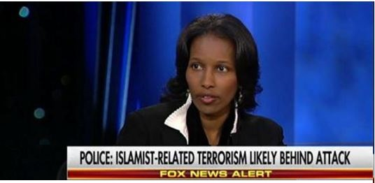 Hirsi Ali: Islamic Terrorists 'Don't Go To Liberals And Say Thank You' For Being PC (Video)