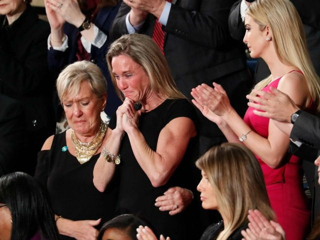Leftists Attack Grieving Widow Of Navy SEAL Following Trump's Tribute In Congress (Video)