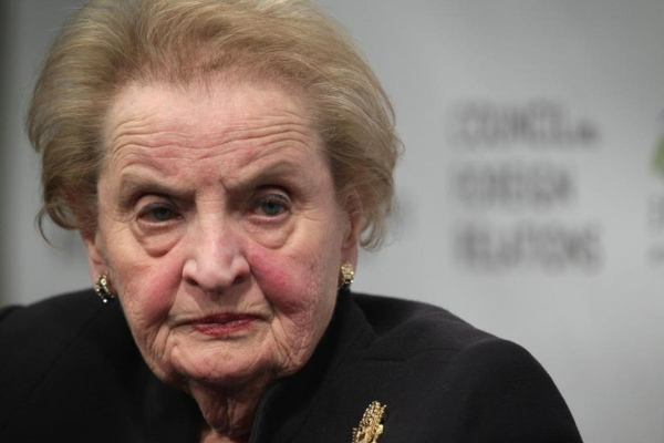 Albright: 'I Am Concerned About The Lack Of Women' At The Top Of Trump's Government (Video)