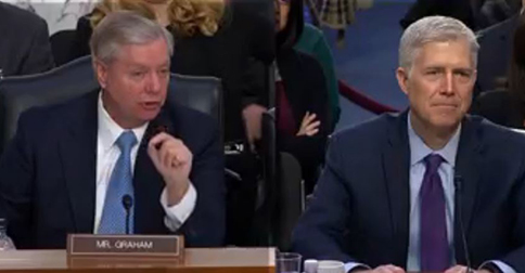 Graham Warns If Trump Start Waterboarding People He 'May Get Impeached'(Video)