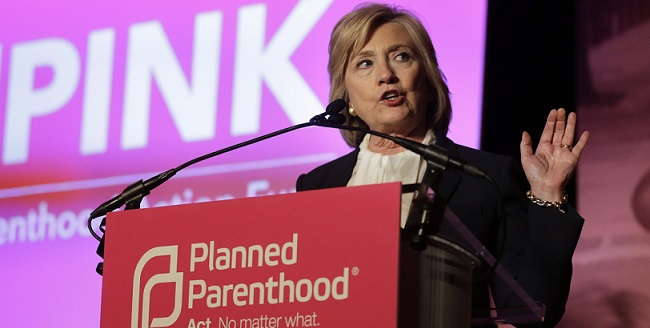 Hillary Clinton To Receive Planned Parenthood's 'Champion Of The Century' Award