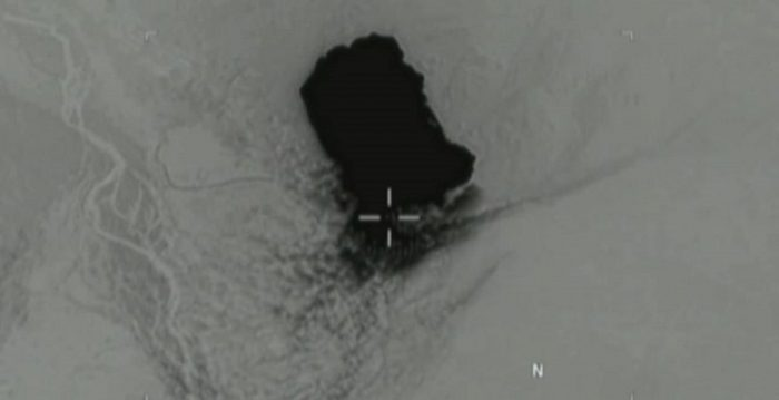 Watch: MOAB Makes Impact Against ISIS Tunnels In Afghanistan