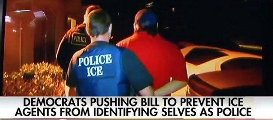 House Dem Wants To Ban ICE Agents From Identifying As Police (Video)