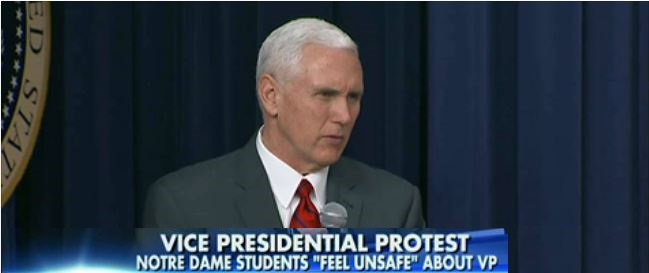 Some Notre Dame Students 'Feel Unsafe' With VP Pence As Commencement Speaker (Video)