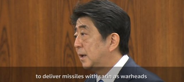 Japan Prime Minister Says North Korea May Be Capable Of Sarin-Tipped Missiles (Video)