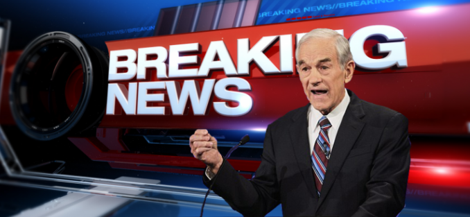 'FALSE FLAG': Ron Paul Says Syrian Chemical Attack 'Makes No Sense' (Video)