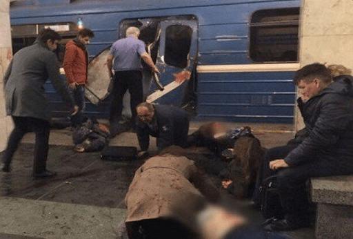 Terrorist Attack In Russia: Ten Dead After Explosions in Saint Petersburg Metro (Video)