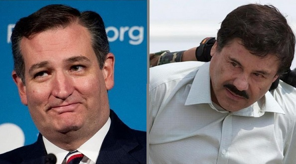 Ted Cruz Calls For $14 Billion Seized From 'El Chapo' To Fund Trump's Border Wall