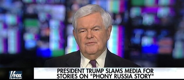 Gingrich: All 'Real Evidence' Of Russian Influence Points To Democrats (Video)