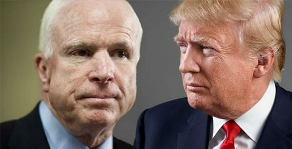 McCain: Trump Was 'Partially To Blame' For Syrian Chemical Attack (Video)
