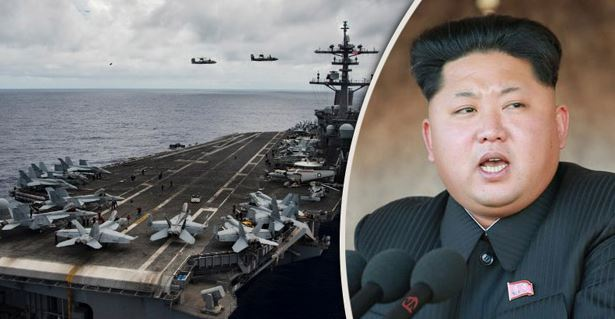 North Korea Threatens To Strike US Aircraft Carrier To Show 'Military's Force' (Video)