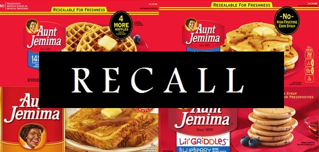 ALERT: Aunt Jemima Issues National Frozen Breakfast Food Recall Due To 'Listeria' Contamination