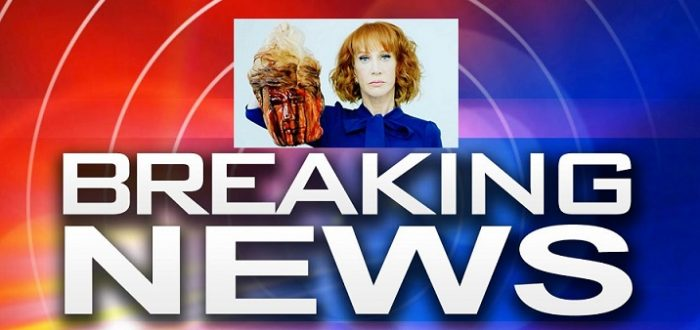 BREAKING: Secret Service Opens Investigation Into Kathy Griffin 'Beheading' Photo (Video)