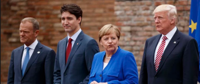 Merkel MAD: Donald Trump Declines To Endorse Paris Climate Agreement