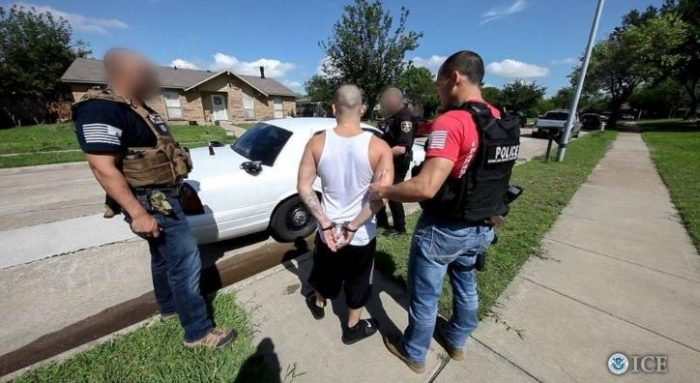 Trump Directive: ICE Arrests 1,378 Suspected Gang Members In Largest Sweep To Date (Video)