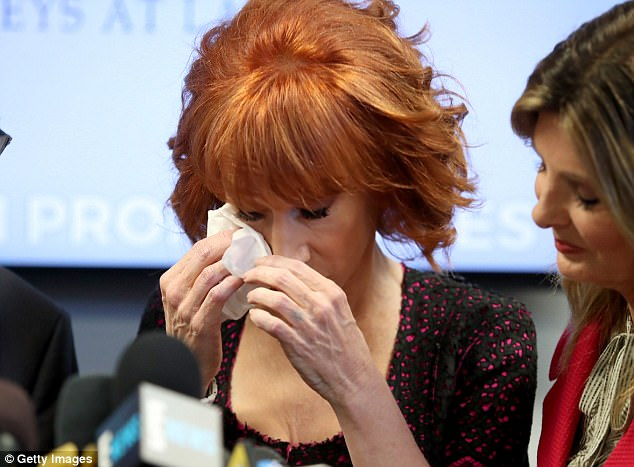 Kathy Griffin In Tears At Press Conference: 'Trump Broke Me' (Video)
