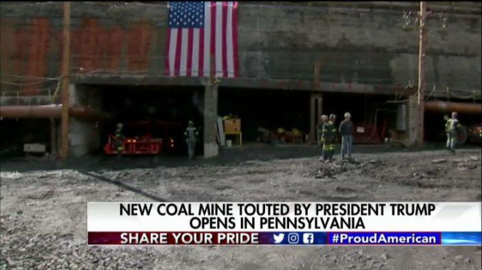 First New Coal Mine Of Trump Era Opens In Pennsylvania (Video)