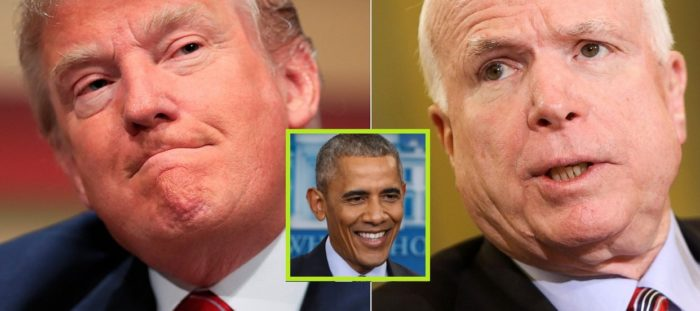 REPORT:  McCain Says American Leadership Was Better Under Obama (Video)