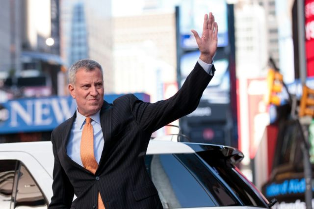Bill De Blasio Skips Police Ceremony, Flies To Germany To Protest Trump (Video)