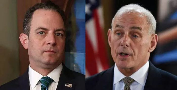 BREAKING NEWS: John Kelly Replaces Reince Priebus As White House Chief Of Staff (Video)