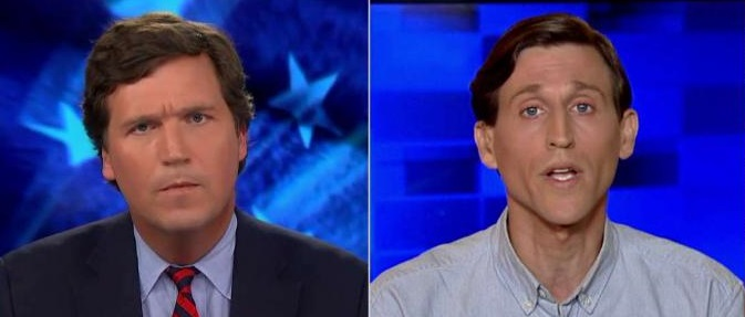 'Spare Me the Dumb Rhetoric': Tucker Battles Man Who Said Trump More Dangerous Than MS-13 (Video)