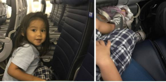 United Airlines Kicks 2-Year-Old Out Of Seat And Gives It To Standby Passenger (Video)