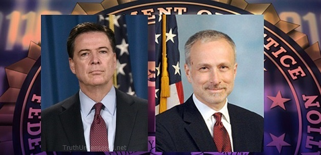 Comey 'Confidant' Top FBI Lawyer Under Investigation For Leaking Classified Info To Media (Video)