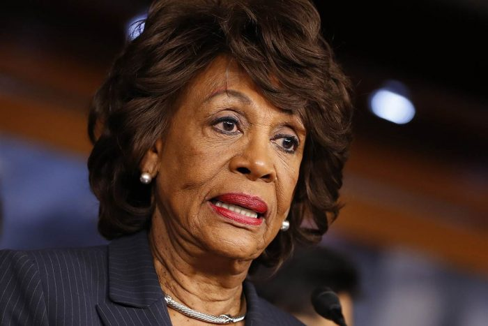 Maxine Waters Accuses POTUS of Pardoning Sheriff Arpaio Because Trump is Part of KKK
