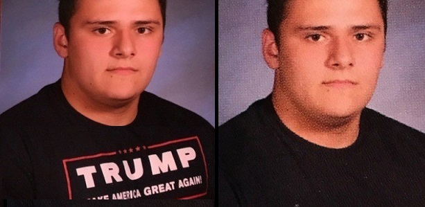 Father Spends $5,000 To Reprint High School Yearbooks That Censored Trump Shirts (Video)