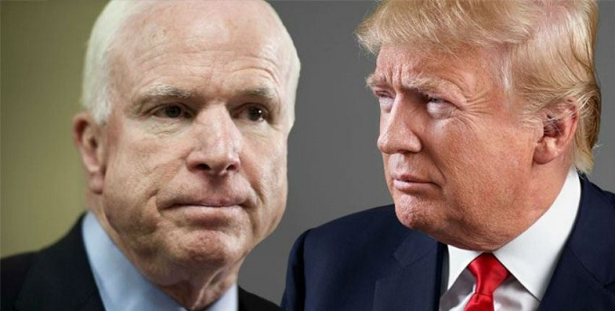 McCain Challenges Trump's Authority, Adds New Amendment To Defense Bill
