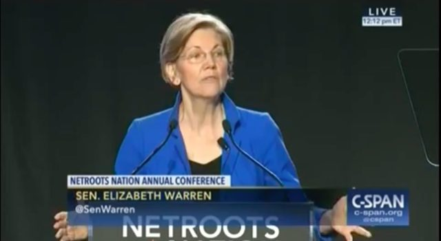 Elizabeth Warren to Illegal Aliens: 'You ARE an American, This is YOUR Country, You ARE Going to Stay' (Video)