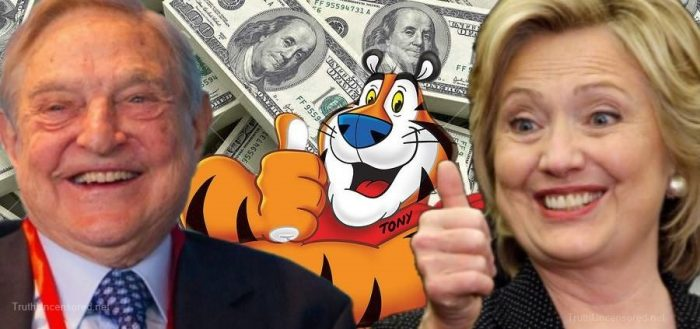 Kellogg Foundation Delivers a Dose of Leftism with Your Cereal – Gave Big to Soros and Clinton Organizations