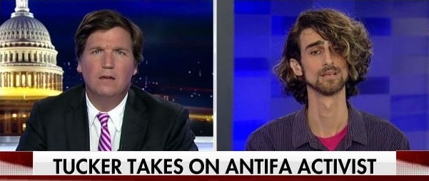 Antifa Criminal Justice Professor Tells Tucker Carlson Antifa Has a Right to Beat Opponents (Video)