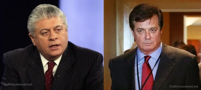 Judge Napolitano Reacts to Report Manafort Was Wiretapped Before & After Election (Video)