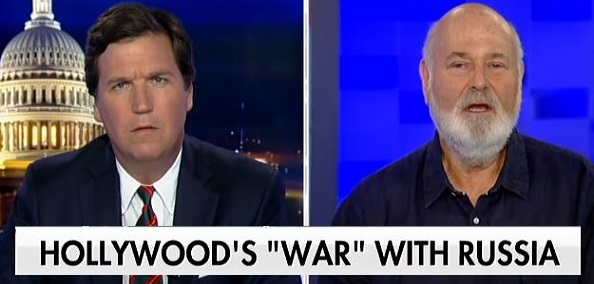 'This is Deeply Disingenuous': Tucker Takes Rob Reiner to Task Over 'War With Russia' Claim (Video)