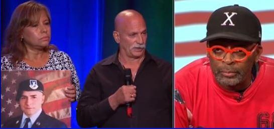 Gold Star Parents Challenge 'Disrespectful' Spike Lee Over Kneeling During National Anthem (Video)