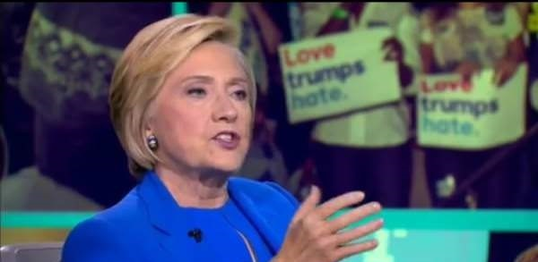 Hillary Compares Trump to Putin: 'Hopefully He Hasn't Ordered the Killing of People and Journalists' (Video)