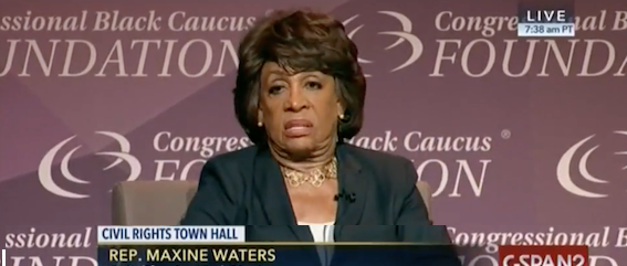 "Maxine Waters Confident Trump Colluded With Russians, ""Impeachment is About Whatever the Congress Says it is"" (Video)"